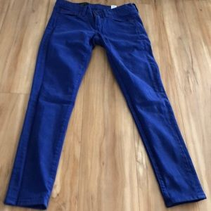24 ankle blue jeans